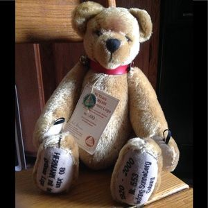 Collectible Hermann Limited Edition Bear